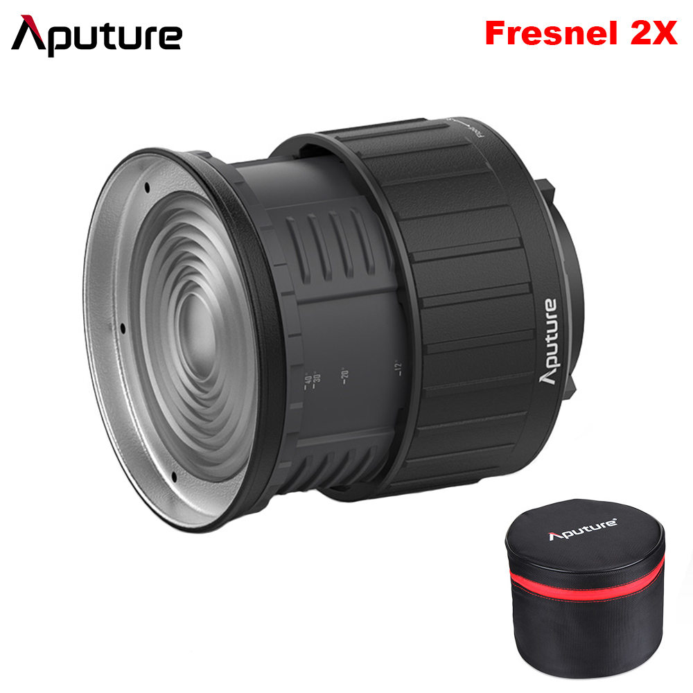 Aputure Fresnel 2x Bowen S Mount Light A Multi Functional Light Shaping Tool Shape your Light use for LS C120 300d Spot Lens-in Photo Studio Accessories from Consumer Electronics    1