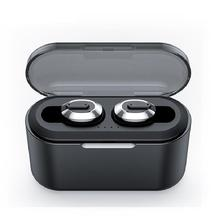 DSstyles Bluetooth Earphone Wireless Mini HiFi Hands free Headphone Sound Earbuds Gaming Headset with Charging Box