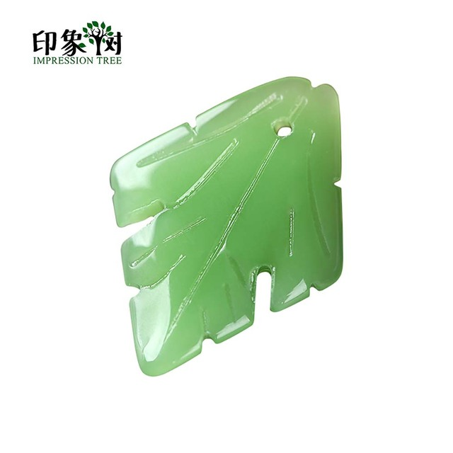 10pcs 27x20mm Maple Leaf Lampwork Beads Green Leaves Pattern Charms Glass Bead Handmade Necklace DIY Jewelry Making 16016