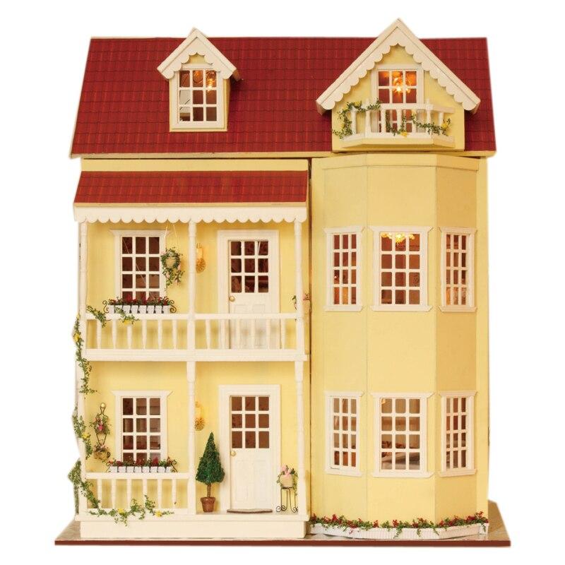 XXXG DIY, une grande cabane en bois lutte maison Main modèle villa trois ans d'anniversaire fée conte