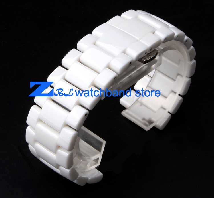 Cembung Mulut Keramik Watchband 19 Mm 22 Mm Gelang Band untuk AR1421 AR1425 AR1426 AR1429 AR1456 AR1472 Tali Jam