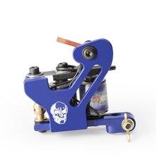 цены Solong Tattoo Hot Sale Iron Tattoo Guns T-Dial Tattoo Machine 10 Wrap Coils Tattoo Machines Liner for Tattoo Supplies  M8718