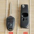 3 Botões do Controle Remoto Chave Shell Para MITSUBISHI Colt Lancer EVO Mirage Outlander Tampa Do Carro Tampa Do Caso Sem Cortes Keyless Entry Fob (lâmina direita)