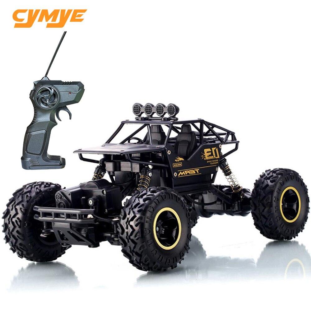 Cymye rc carro 6141 4wd 1/16 escala 2.4g controle remoto fora da estrada veículo escalada rc buggy