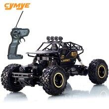 Cymye rc سيارة 6141 4WD 1/16 مقياس 2.4G التحكم عن بعد سيارة للطرق الوعرة تسلق RC عربات التي تجرها الدواب