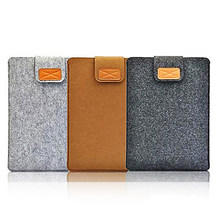 Wool felt Soft Sleeve Bag Case 8 10.1 Inch Protective Sleeve Notebook Case for ipad 2 3 4 Mini Cover for Samsung Huawei Lenovo(China)
