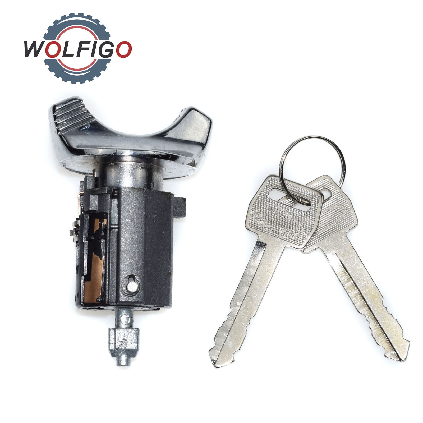 Key For Ford F150 250 350 Pickup For Lincoln/mercury Chrome Metal Silver C-42-150 #20 2019 Ignition Switch Lock Cylinder Automobiles & Motorcycles