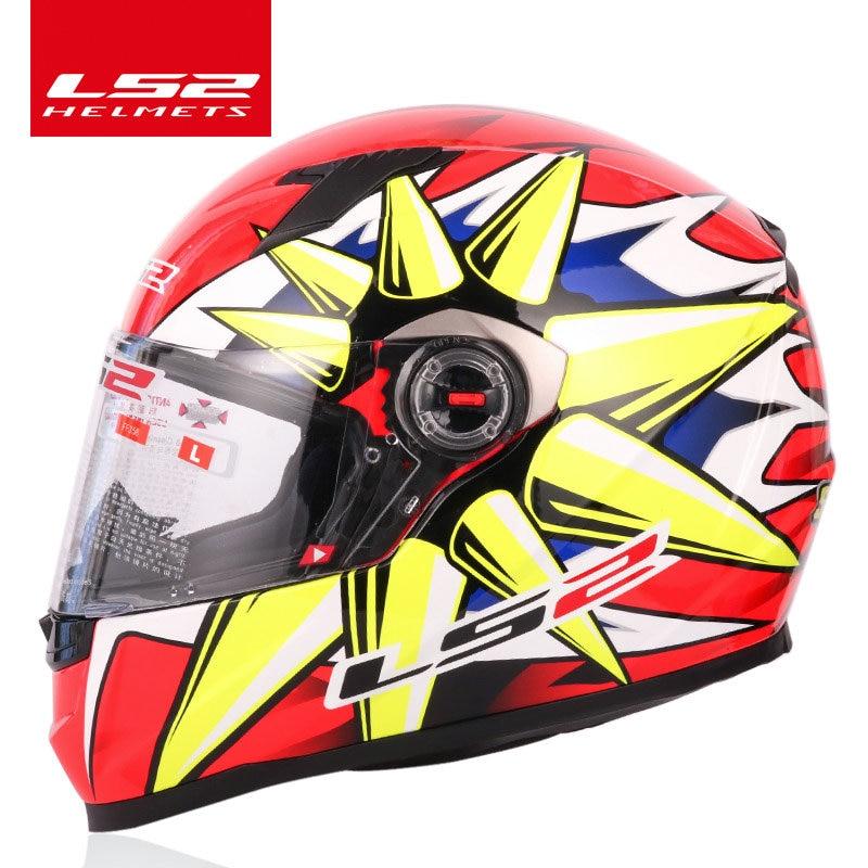 LS2 FF358 plein visage moto rcycle casque ls2 moto cross racing homme femme casco moto casque LS2 ECE approuvé