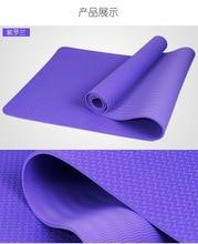 CROSSWAY Yoga Mats 6 Colors 1.4 KGS Non Slip TPE Yoga Mat for Hot Pilates  Gymnastics 1bac08b0ee5ae