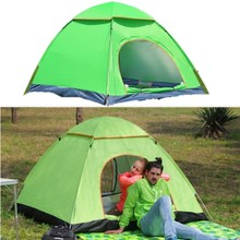 Camping Pop Up Tent 3-4 Person Beach Waterproof Ultralight Outdoor Hiking Picnic Folding Fully Automatic Tents
