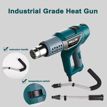 High Quality Heat Gun 2000w Powerful Stretch Film Hot Wind Dryer Pipe Softening Machine