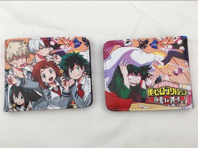 My Hero Academia Anime Boku no hero Short Wallet