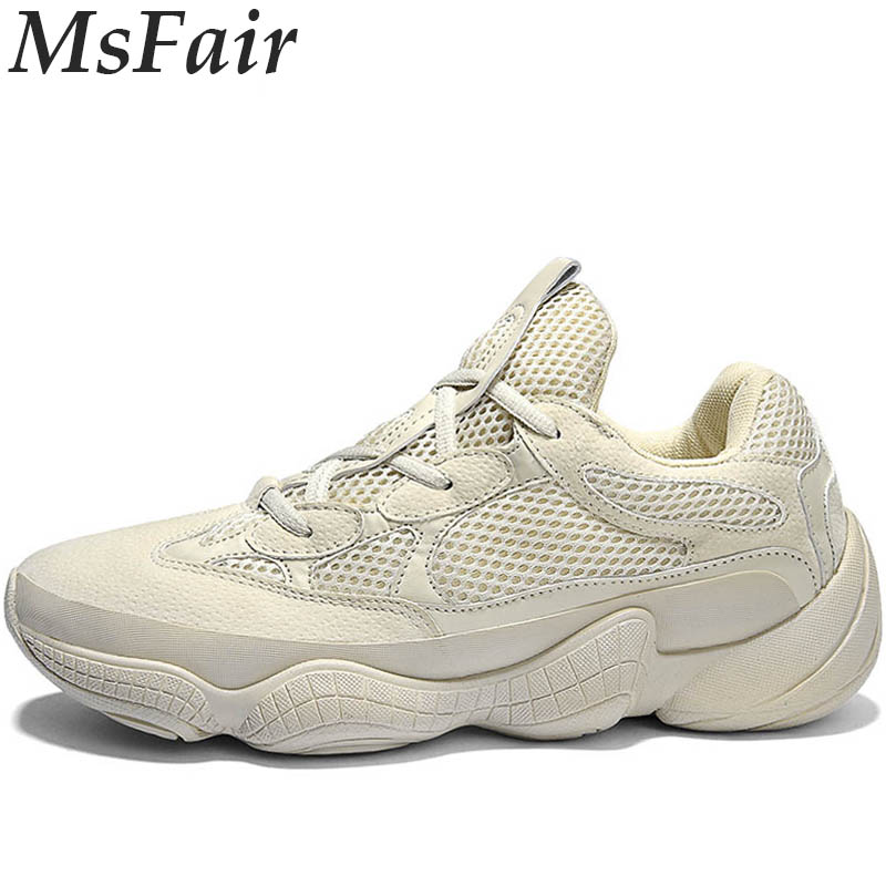 MSFAIR 2018 Women Men Running Shoes Outdoor Athletic Run Ladies Sport Shoes Man Brand Summer Breathable Walking Mens Sneakers