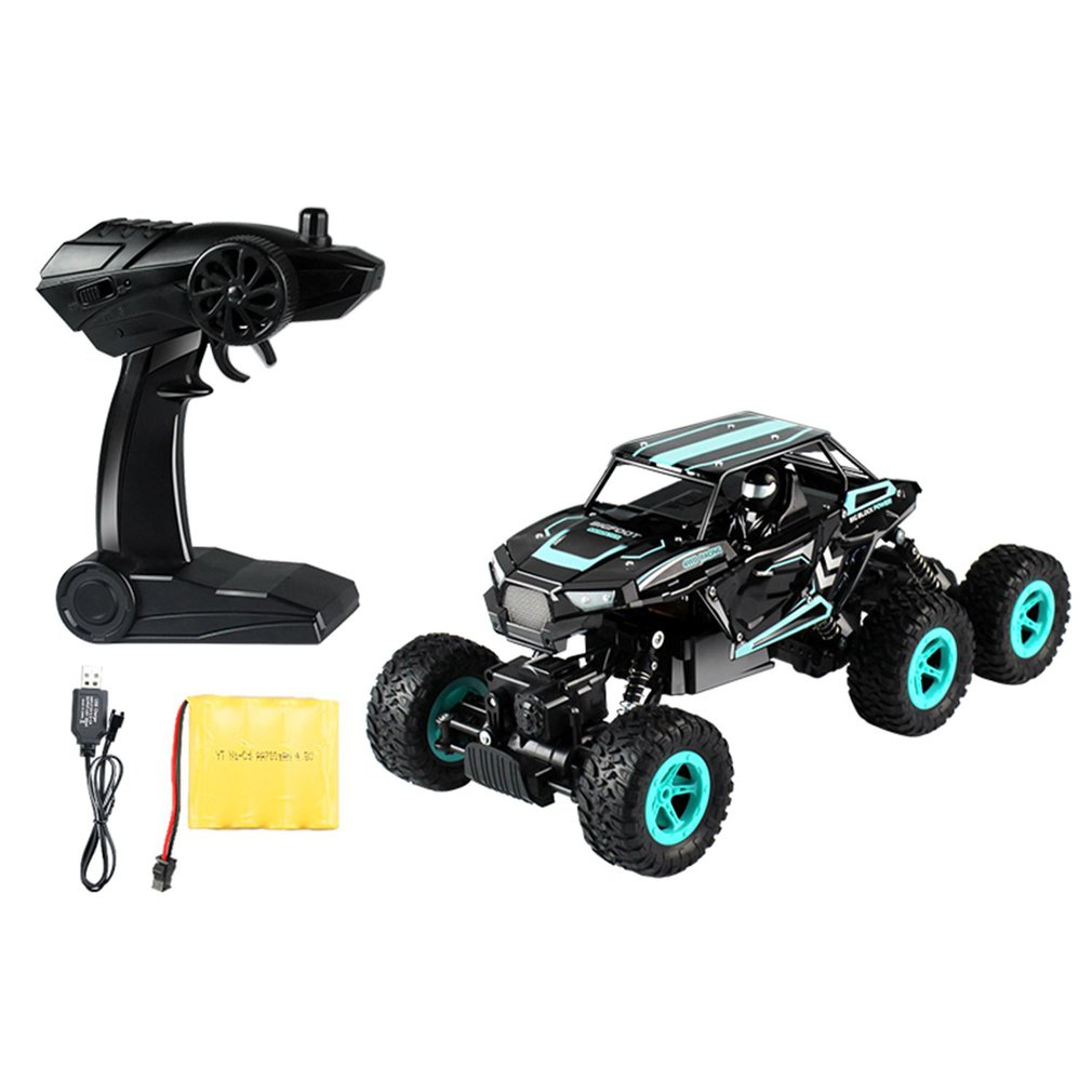 D819 1/14 2.4GHz RC Car Rock Crawler 6-wheel Drive High Speed Racing Car Buggy Climbing Off-Road Car Truck Toy for Children new 7 2v 16v 320a high voltage esc brushed speed controller rc car truck buggy boat hot selling