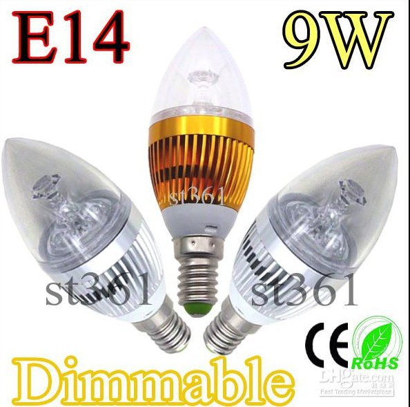High quality e14 9w led candle light bulbs gold warm white crystal high quality e14 9w led candle light bulbs gold warm white crystal chandelier candles lamp mozeypictures Image collections