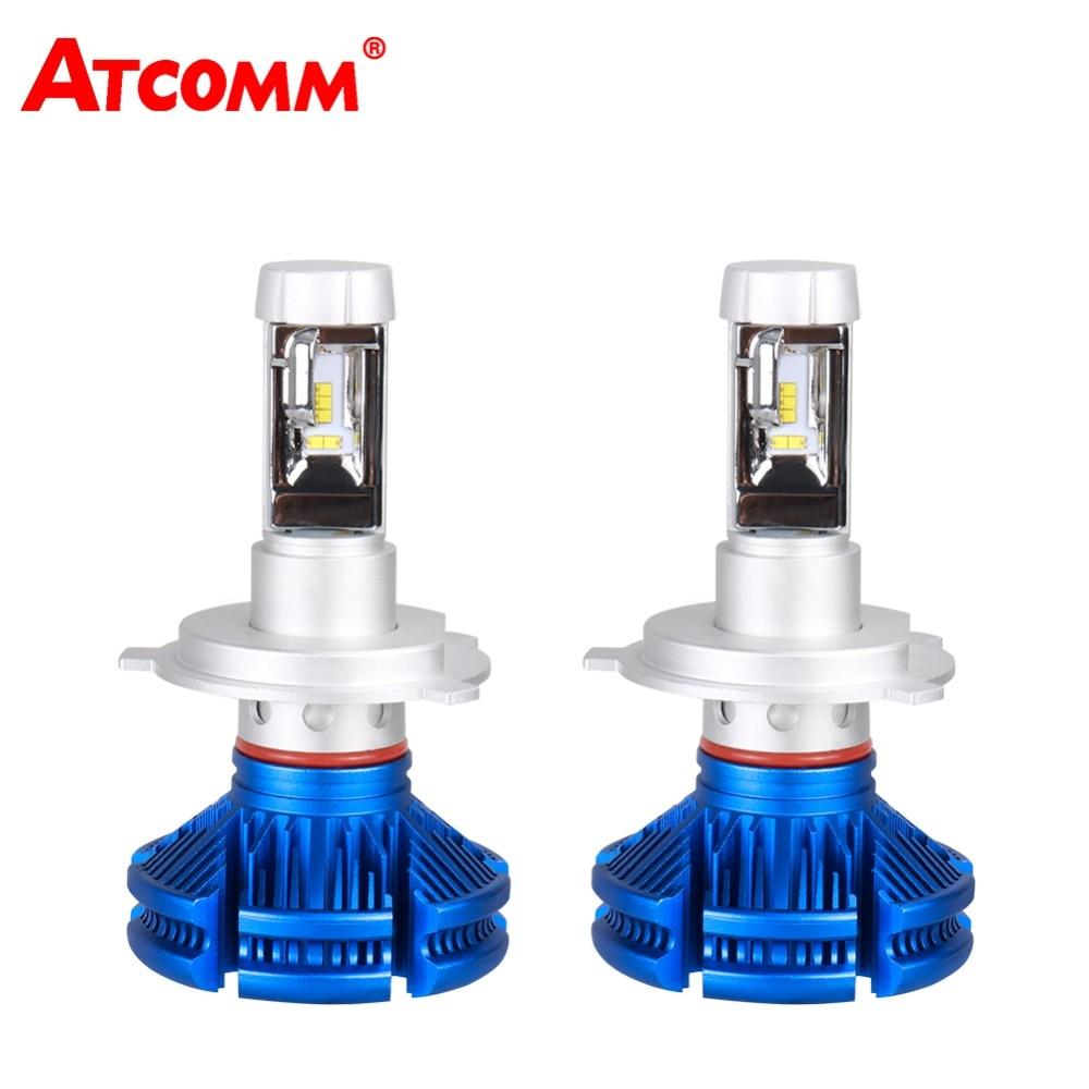 H7 LED Voiture Ampoule 12000Lm H3 H1 LED Phare De Voiture 9005/HB3 9006/HB4 HIR2 12 v ZES puce 6500 k 50 w 24 v LED H4 H11 H8 Auto Lampe Lumière
