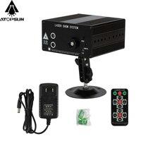 1pcs Alien LED Laser Stage Lighting RG Mini Laser Projector 9W IP20 Remote Led Light Effect