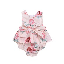 gxmjxdgmlndcp Baby girl clothes Newborn bebe floral cotton
