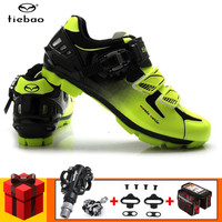 TIEBAO Cycling Shoes add SPD pedal set sapatilha ciclismo mtb 2019 Men sneakers zapatillas deportivas hombre Mountain Bike Shoes