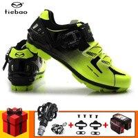TIEBAO Cycling Shoes add SPD pedal set sapatilha ciclismo mtb 2019 Men sneakers zapatillas deportivas hombre Mountain Bike Shoes