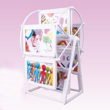 Fashion picture frame wind millphoto frame combination kids birthday gift wedding desktop Home decoration can put in 12pcs photo