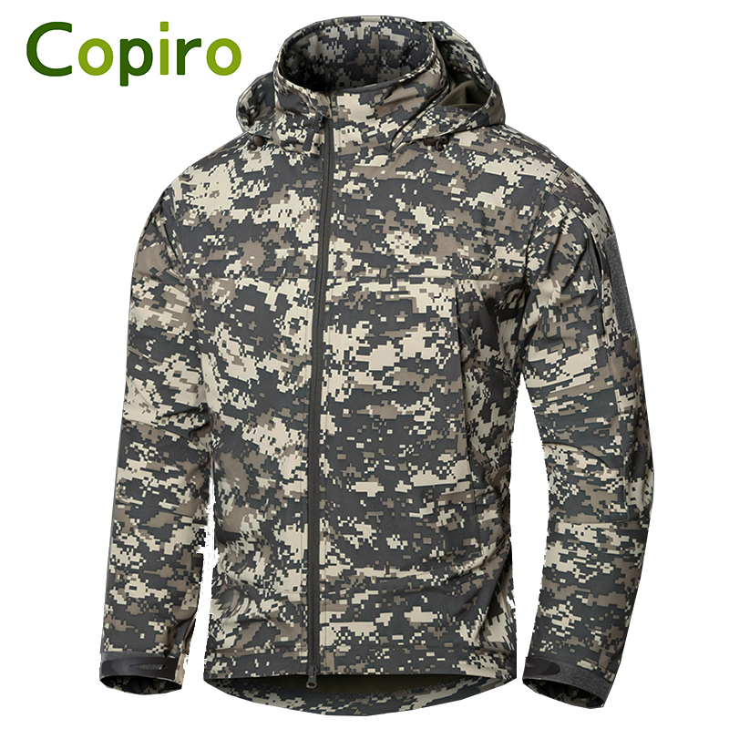 Copiro Executive Men's Outdoor Tactical Military Waterproof Softshell Jacket Hiking Clothes Windproof Fishing Clothing fire maple sw28888 outdoor tactical motorcycling wild game abs helmet khaki