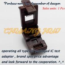 SOP14 IC Test Socket(Flip test seat)  SOP14/SO14/SOIC14 Pitch=1.27mm Width=8.6/12mm