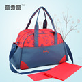 New multifunctional diaper bags mother bag high quality maternity mummy nappy bags flower style mom handbag baby stroller bag65z