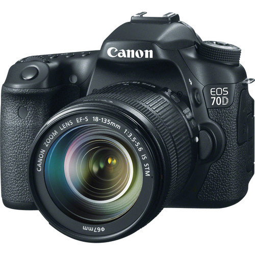 Canon 70D DSLR Camera