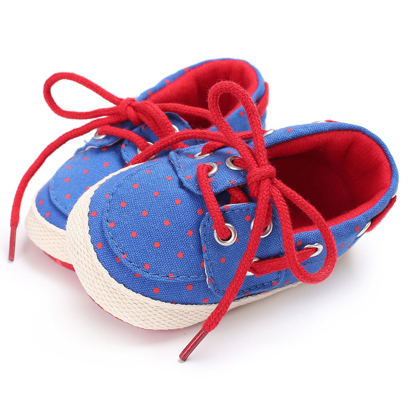 New Baby Shoes Breathable Canvas Shoes 1-3 Years Old Boys Shoes 2 Color  Comfortable