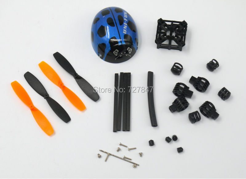 micro quadcopter frame compatible with walkera ladybird diy bluechina mainland