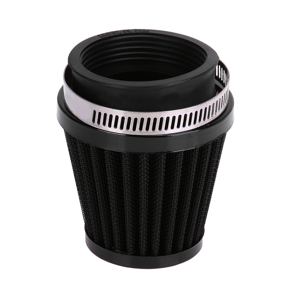 Motorcycle Air Filter Mushroom Head Filters Universal 34mm 35mm 36mm Motorcycle Air Intake Filter Cleaner Black Car styling