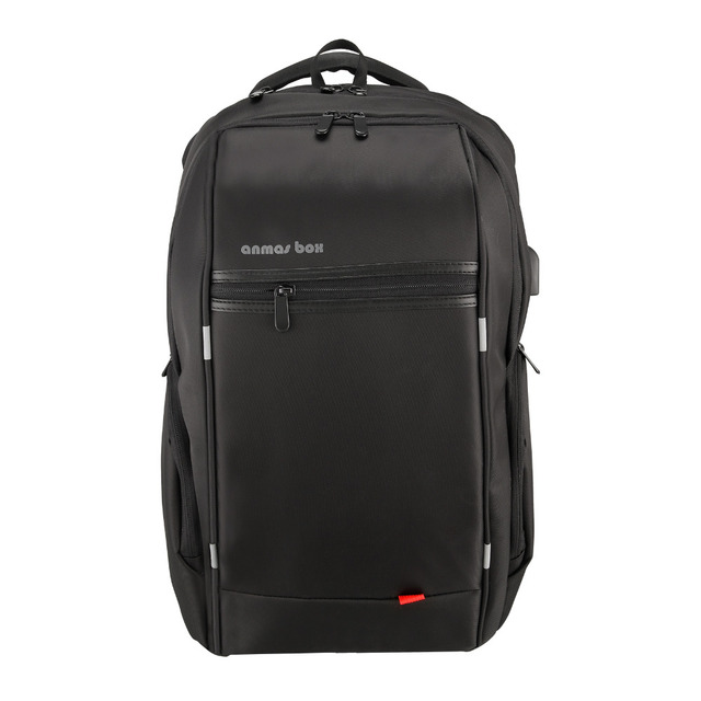 de23e1c317 17 Inch Laptop Backpack Waterproof Anti Theft Backpack External USB Charge  Computer Backpacks For Teenager Fashion Male Mochila -in Backpacks from  Luggage ...