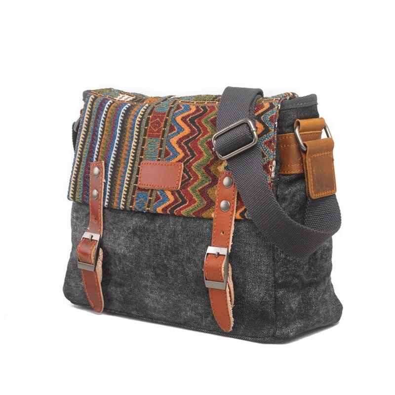f8080adad5 VZ stylish man handbags over shoulder denim messenger bag laptop bag  business shoulder bags blue black canvas satchel for man