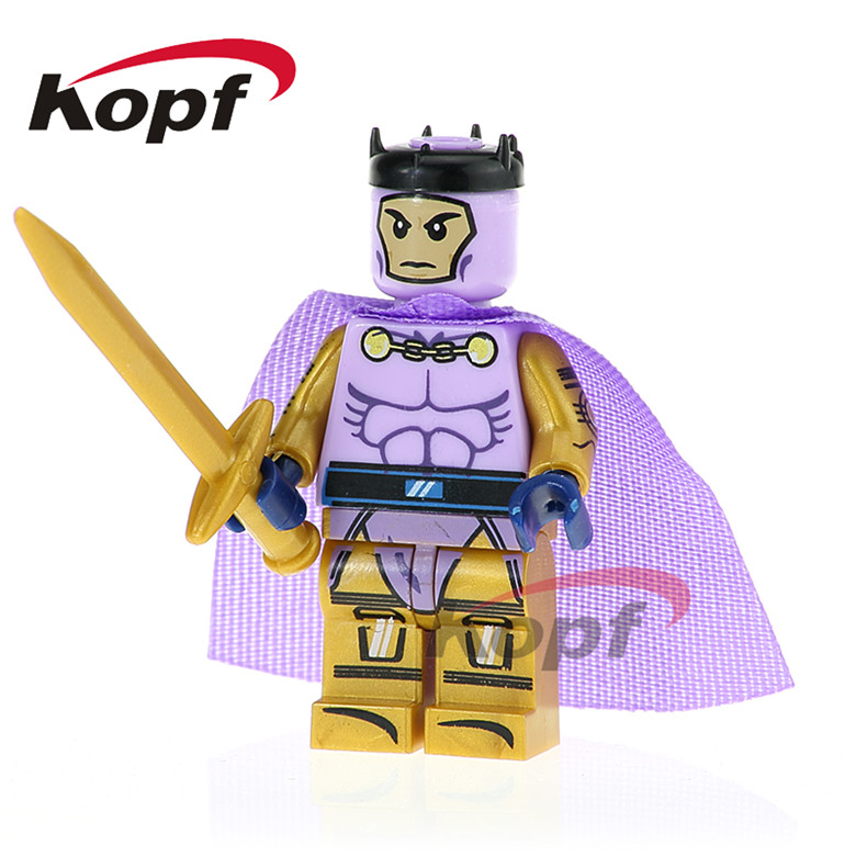 20Pcs Building Blocks Super Heroes Gamora Wrecker Black Widow Heracles Adam Warlock Bricks Learning Toys for children Gift PG398