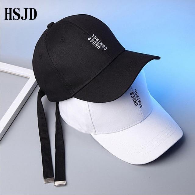 2018 New Summer Long Strap Belt Letter Embroidery Baseball Cap Brand Street Fashion  Snapback Hats Women 9af29969c7e8