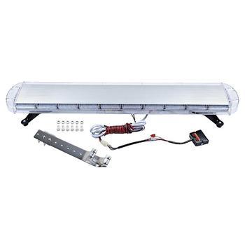 88Led Long Row Warning Light Car 47 Inch Ultra-Thin Strip Strobe Light Traffic Engineering Roof Open Road Lights