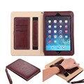 Роскошные Смарт Tablet Coque Кошельки Стойка Крышки Case Для Funda ipad 2/3/4/iPad Air1 (ipad 5)/iPad Air 2 (ipad 6)