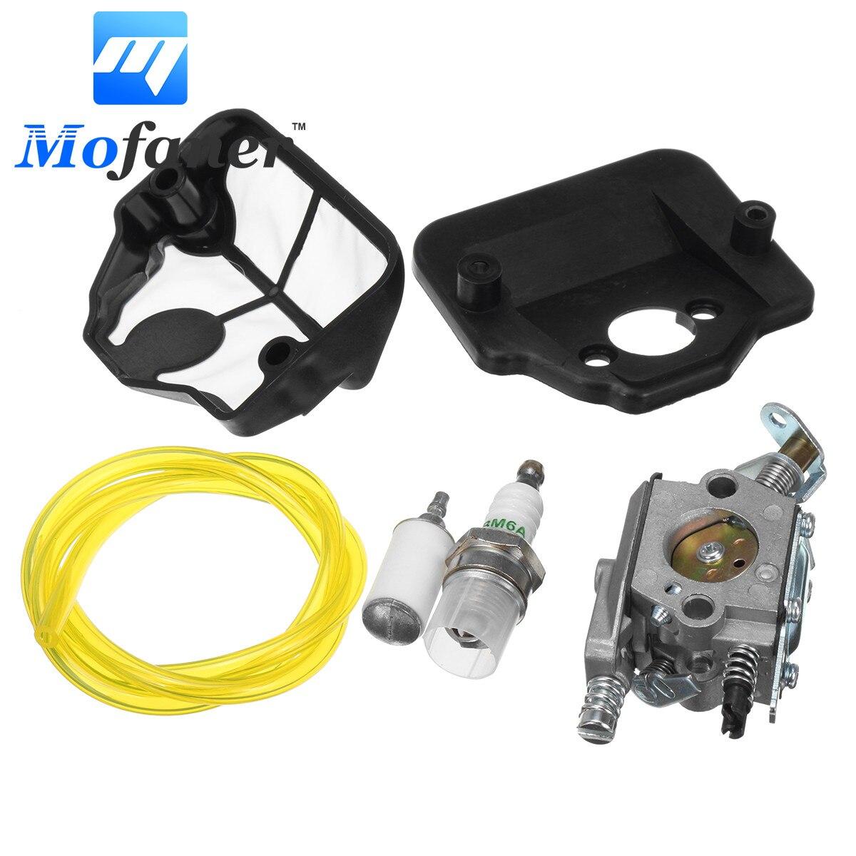 Moto Carburateur Carb Kit Pour Husqvarna 36 41 136 137 141 142 Tronçonneuse Zama C1Q-W29E