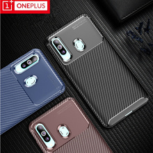 Oneplus 7 pro case Carbon fiber shockproof mobile phone case for oneplus 7 6 6T tpu fashion luxury phone case for oneplus 7 7pro
