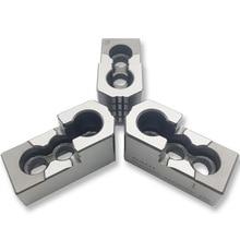 MZG 5 6 8 10 дюймов стандартный полый патрон давления масла жесткая челюсть для токарного станка с ЧПУ аксессуары