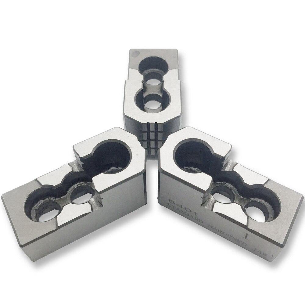 MZG 5 6 8 10 pouce Standard Creux chuck pression d'huile dur Mâchoire pour CNC Tour accessoires