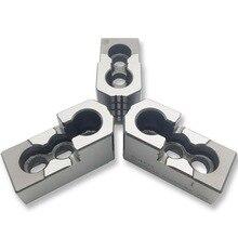 MZG mandrin creux Standard, 5 6 8 10 pouces, mâchoire dure, pression dhuile, pour accessoires de tour, CNC