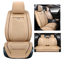 Front And Rear Cover Seats For Volvo C30 Car Seat Cover Set Airbag Compatible Custom Fit
