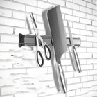 Aluminum magnetic suction knife rack magnetic strip hanging tool holder magnet magnet holder kitchen tool holder LU9131707