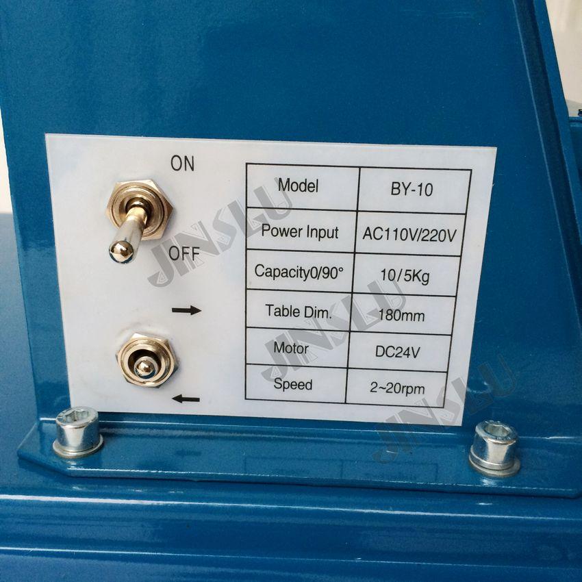Posizionatore di saldatura 110 V BY-10 con mandrini - Attrezzatura per saldare - Fotografia 3