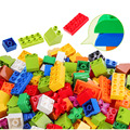 Building Blocks For Children Above 3 Years Old Big Bricks With Instruction Sticker Figure Pipe Building Blocks Compatible Duploe