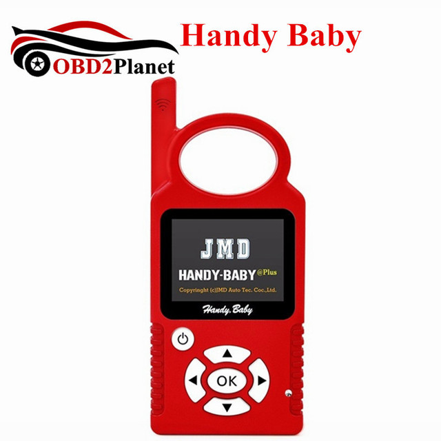 Cheap CBAY Handy Baby Hand-held Car Key Copy Auto Key Programmer For 4D/46/48 Chips Handy Baby Key Programmer Multi-languages Choice