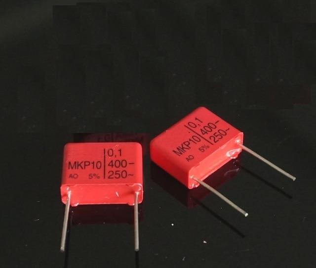 10 قطعة Wima Mkp10 400 فولت 0.1 فائق التوهج 104 P: 15 مللي متر ل الصوت اقتران المكثفات جديد