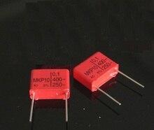 10 pz Wima Mkp10 400 v 0.1 uf 104 p: 15mm Per Condensatori di Accoppiamento Audio NUOVO